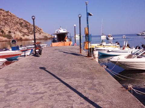 Emporios Bay, Emporios Port, Chios, Greece